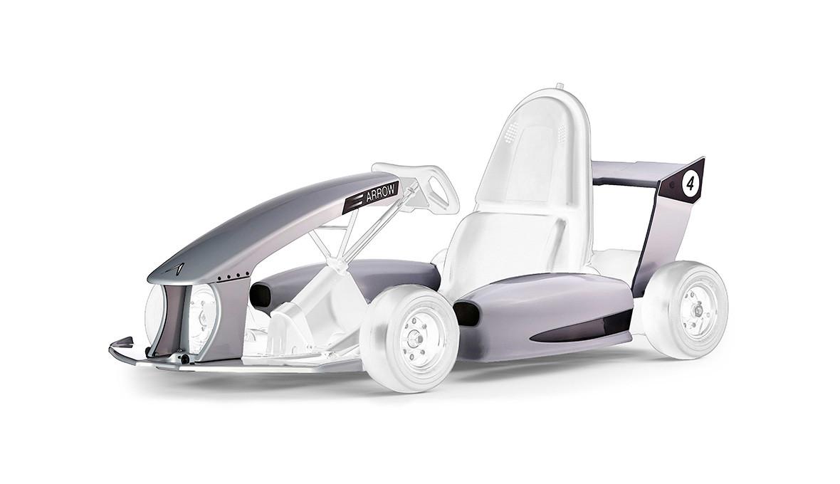 Formula Racecar Body Kit - Silver