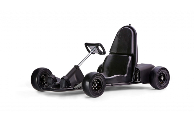 Explore the thrill of driving the first smart, electric go-kart for kids