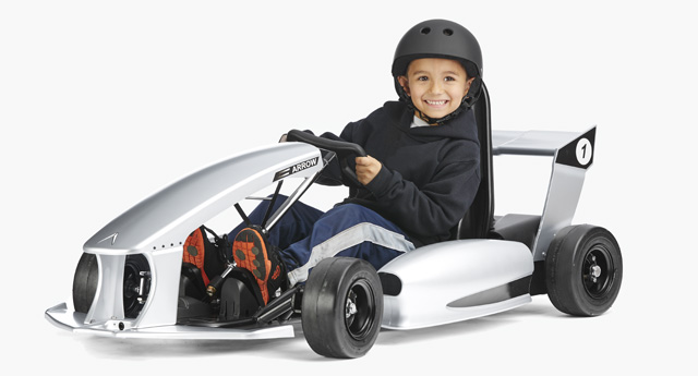 Actev Arrow – the First \'Smart-Kart\' For Kids