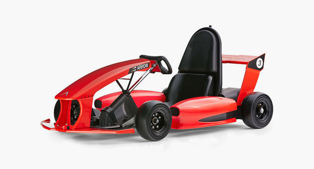 Kid Electric Car >> Actev Arrow – the First 'Smart-Kart' For Kids